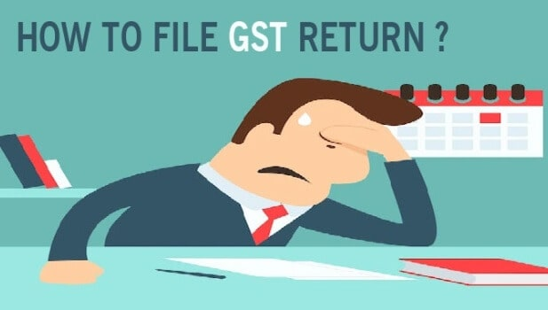 GST Return Filing-How To File GST Return Online