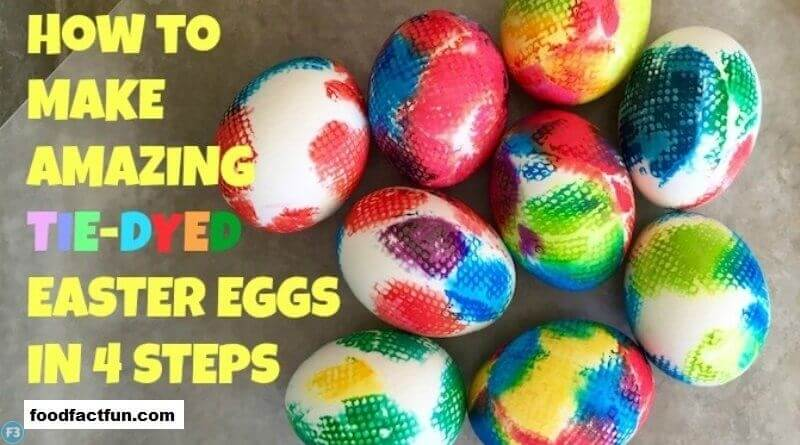How to make amazing Dye Easter Eggs in easy steps