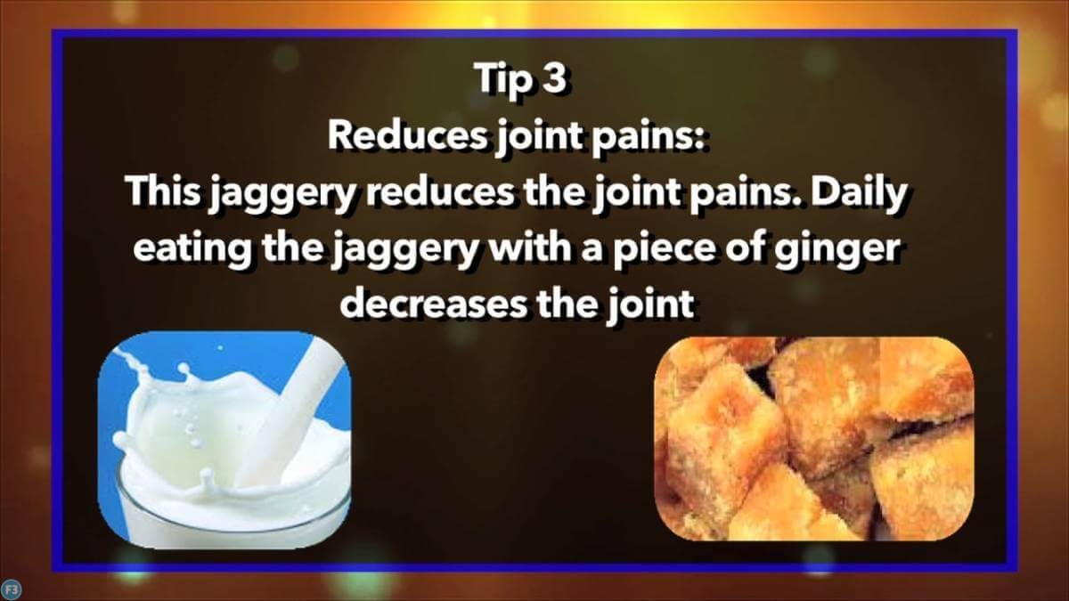 Jaggery with Milk Benefits