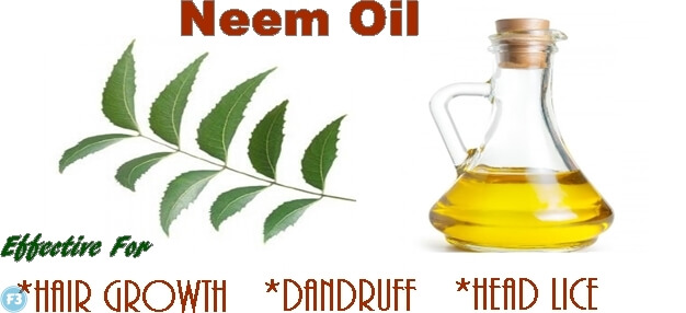 Neem oil for dandruff
