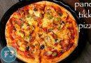 How to Make Paneer Tikka Pizza Recipe In Home