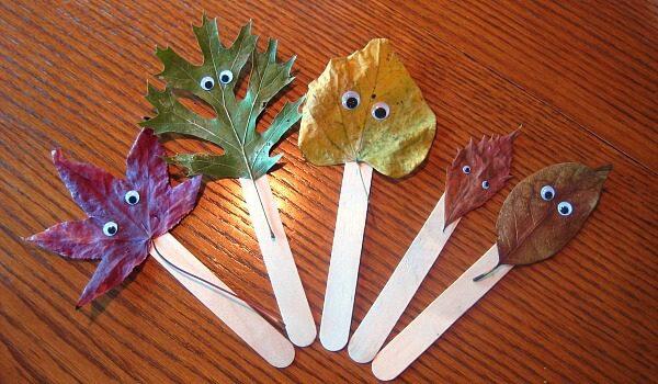 11 Leaf Art & Craft Ideas for Kids