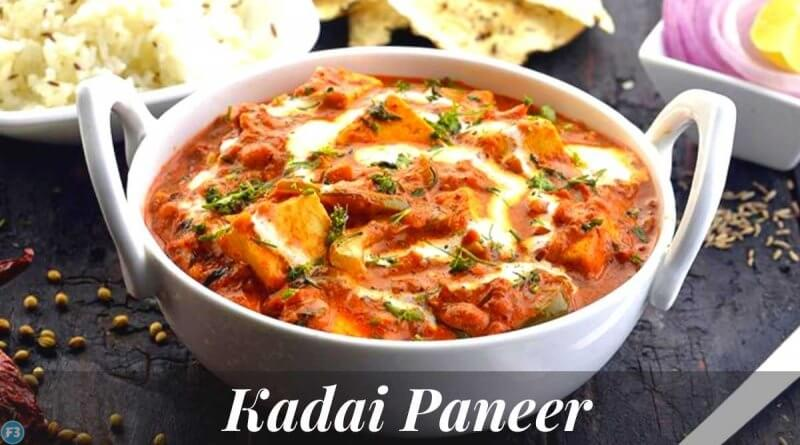 Kadai Paneer Recipe Curry with Thick Gravy