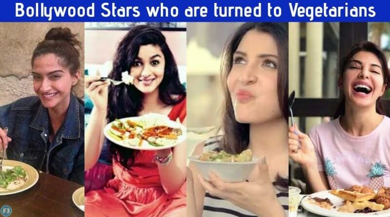 Top 10 Bollywood Stars who are turned to Vegetarians