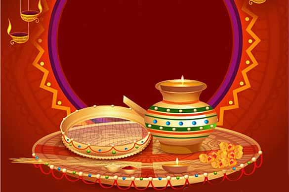 This image has an empty alt attribute; its file name is karwa_chauth1.jpg